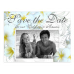 Hawaiian Destination Wedding Save the Date Cards Postcard