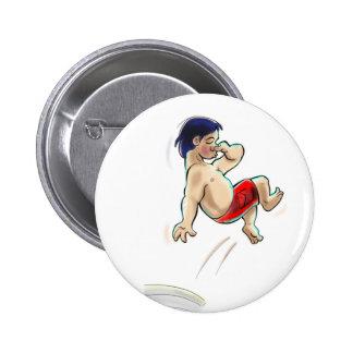 hAwAiiAn DiVeR Pinback Button