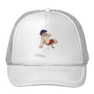 hAwAiiAn DiVeR Trucker Hat