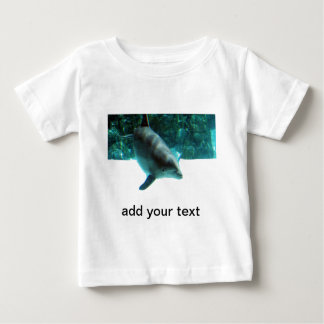 Hawaiian Dolphin with your text Baby T-Shirt