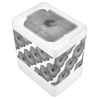 Hawaiian Dreams in Black and White Drink Cooler