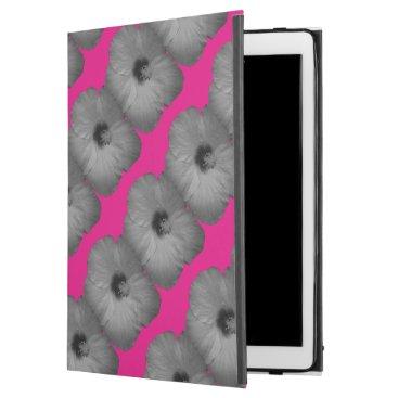 """Hawaiian Themed Hawaiian Dreams in Black and White iPad Pro 12.9"""" Case"""