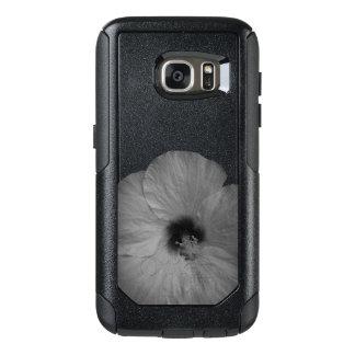 Hawaiian Dreams in Black and White OtterBox Samsung Galaxy S7 Case