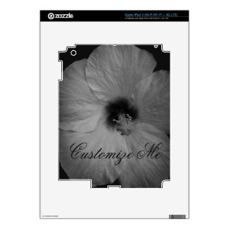 Hawaiian Dreams in Black and White Skin For iPad 3