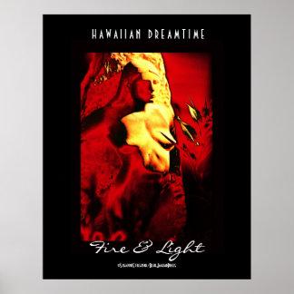 """Hawaiian Dreamtime"" Poster"