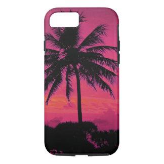 Hawaiian Exotic Palm Tree Silhouette iPhone 8/7 Case