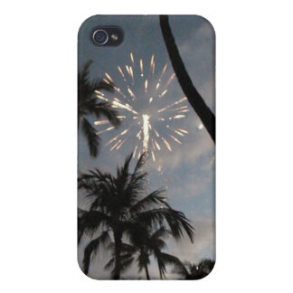 Hawaiian Fireworks iPhone 4/4S Case