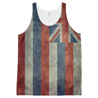 Hawaiian Flag All-Over-Print Tank Top