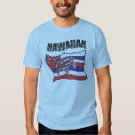 Hawaiian Flag Blue Shirt