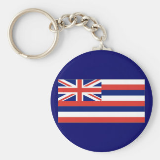 Hawaiian flag key chain