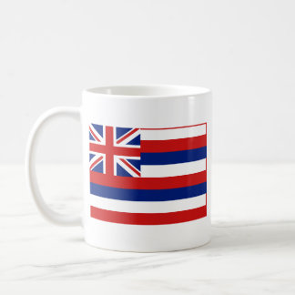 Hawaiian Flag + Map Mug