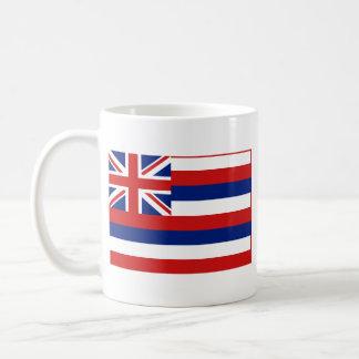 Hawaiian Flag + Map Mug