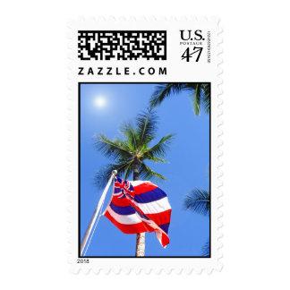 Hawaiian Flag Postage