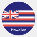 Hawaiian flag stickers