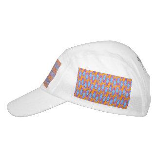 Hawaiian Flip Flops in Blue & Orange Headsweats Hat
