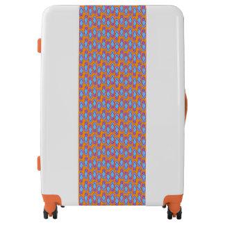 Hawaiian Flip Flops in Blue & Orange Luggage