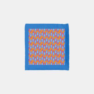 Hawaiian Flip Flops in Blue & Orange Reusable Bag