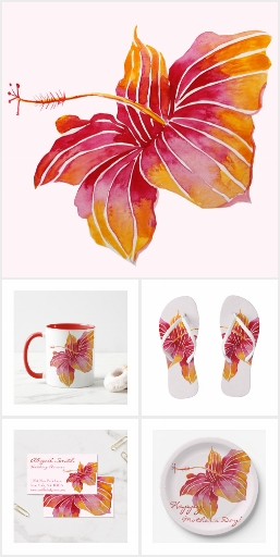 Hawaiian Floral Collection