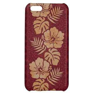 Hawaiian Floral Pattern Case For iPhone 5C