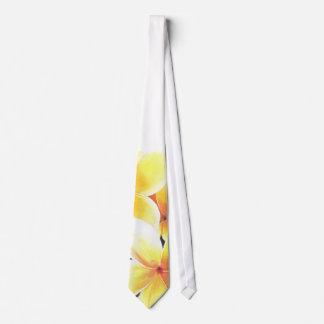 Hawaiian Flower Neck Tie