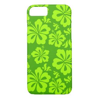 Hawaiian flower phone cover