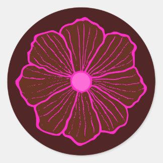 Hawaiian Flower Sticker