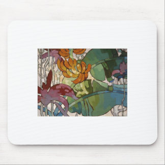 Hawaiian flowers by Arman Manookian c. 1920's Mouse Pad