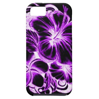 Hawaiian flowers hibiscus Phone case Iphone 5 Cover