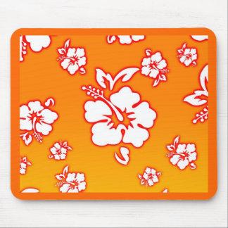 Hawaiian Flowers Mouse Pad
