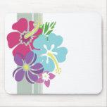 Hawaiian Flowers Mousepad
