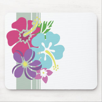 Hawaiian Flowers Mousepad