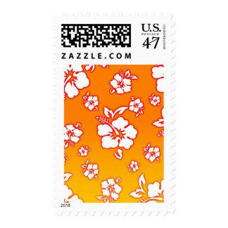 Hawaiian Flowers Stamp