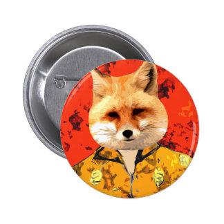 Hawaiian Fox Button