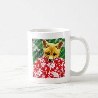 Hawaiian Fox Coffee Mug