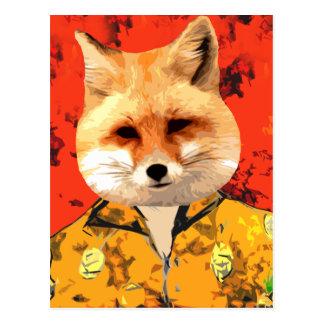 Hawaiian Fox Postcard