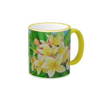Hawaiian Frangipani Coffee Mug