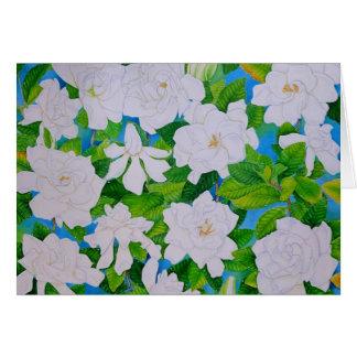 Hawaiian Gardenias Card