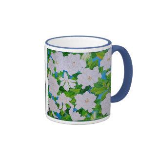 Hawaiian Gardenias Mugs