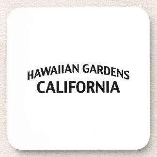 Hawaiian Gardens California Beverage Coaster
