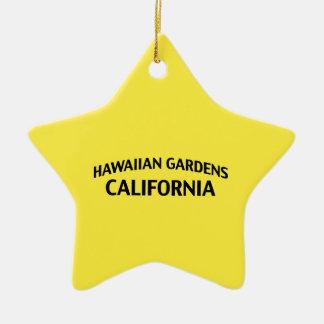 Hawaiian Gardens California Ceramic Ornament