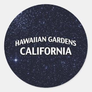 Hawaiian Gardens California Classic Round Sticker