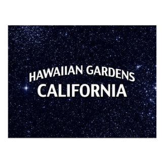 Hawaiian Gardens California Postcard