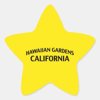 Hawaiian Gardens California Star Sticker