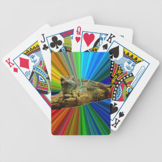 Hawaiian Gecko playing cards Bicycle Playing Cards