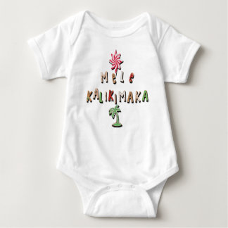 Hawaiian Gingerbread Cookies and Candy 2.0 Baby Bodysuit