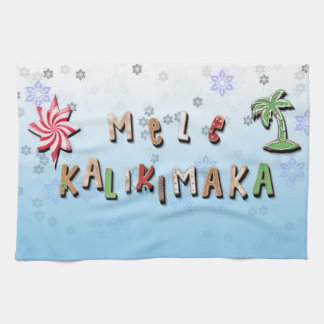 Hawaiian Gingerbread Cookies and Candy Hand Towel