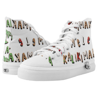 Hawaiian Gingerbread Cookies and Candy High-Top Sneakers