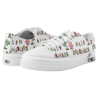 Hawaiian Gingerbread Cookies and Candy Low-Top Sneakers