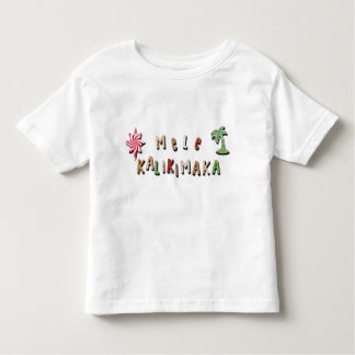 Hawaiian Gingerbread Cookies and Candy Toddler T-shirt