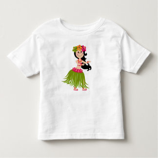 Hawaiian Girl Toddler T-shirt